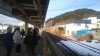 青い森鉄道 快速しもきた 青森行き キハ100系  2020.01.06