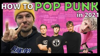 How To Make Pop Punk Style Music In 2021 (MGK, Travis Barker Inspired) | Ableton