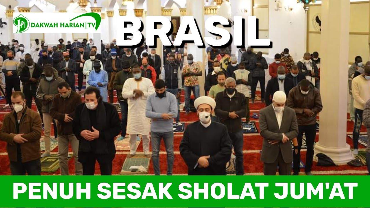 PENUH SESAK SHALAT JUM'AT DI BRASIL