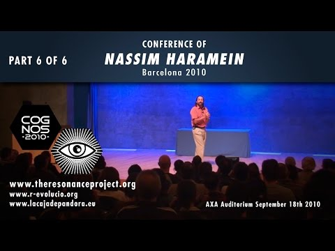 Nassim Haramein, UFOs in space, anti-gravity and black holes