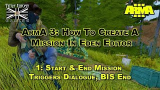 Скачать 1 ArmA 3 How To Create A Mission In Eden Editor Start End Mission Triggers Dialogue BIS End