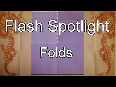 Flash Spotlight - Folds - Chinese Finger Trap