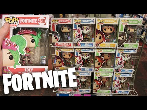 Fortnite Wave 2 Funko Pop Hunting!