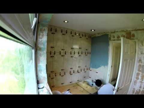 Raimondi levelling system - Wall Tiling timelapse