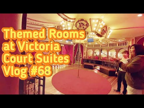 #68 Vlog | Victoria Court Suites Themed Rooms | Hotel Tour And Review |