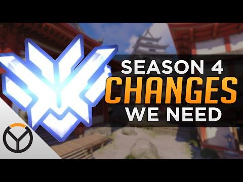 Overwatch: Season 4 Changes We NEED