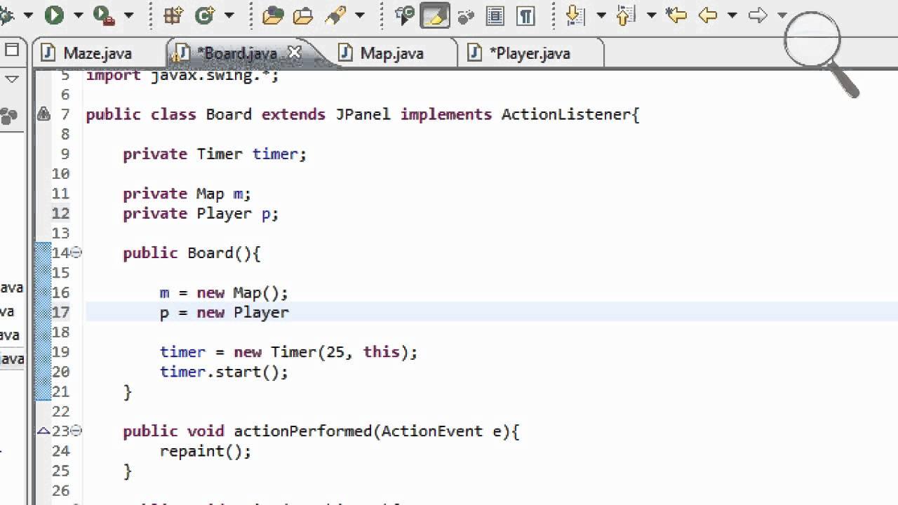 Java Programming Tutorials (Maze Game)