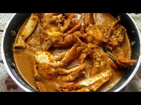 Spicy Crab Curry Coastal Style ¦ Mangalorean Spicy Crab Masala