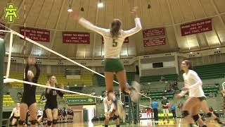 Arkansas Tech Volleyball vs. St. Edward's/Christian Brothers (09/15/17) - Highlights
