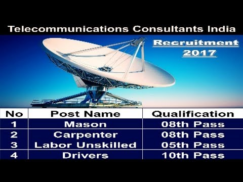 Telecommunications Consultants India Recruitment | Government Jobs In Abroad