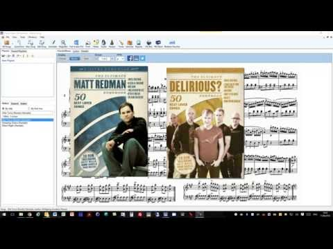 Import PDF Digital Songbooks into Power Music Professional