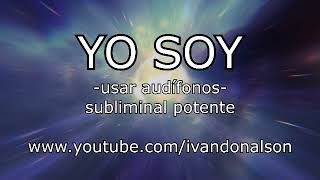 AFIRMACIONES MAS PODEROSAS DEL YO SOY - Audio subliminal POTENTE