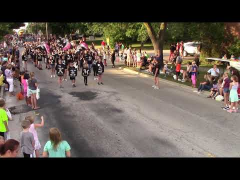 Kaneland Harter Middle School Band Elburn Days Parade 2019