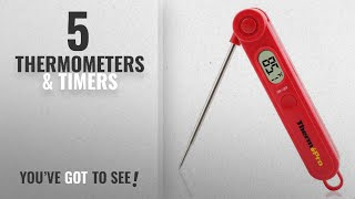 Top 10 Thermometers & Timers [2018]: ThermoPro TP03A Digital Food Cooking Thermometer Instant Read
