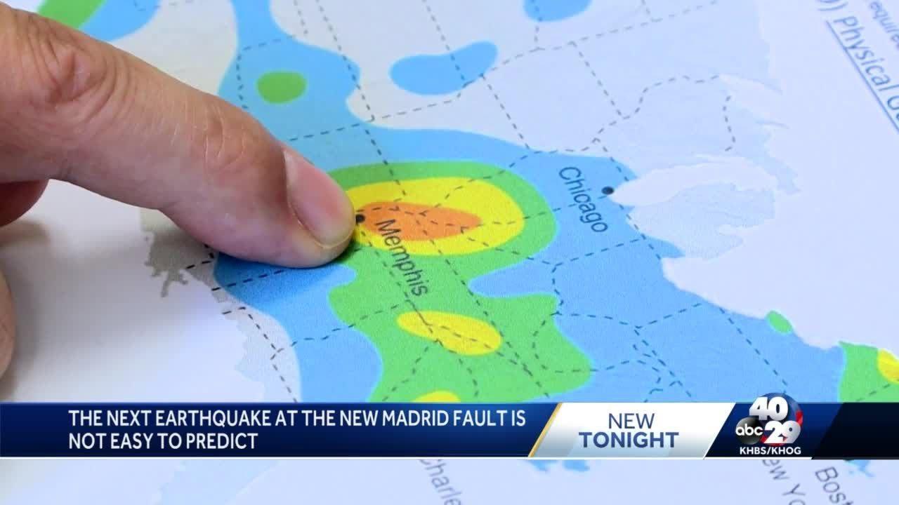 Earthquakes possible on Arkansas' New Madrid Fault