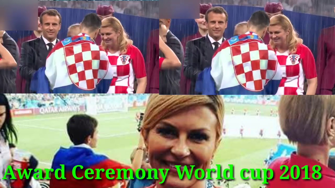 Worldcup 2018 Award ceremony|| France Vs Crotia 4-2 || Worldcup Final 2018 - YouTube