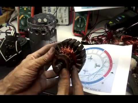 750W BOSCH 20P 4S WINDING PART 1