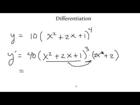 Calculus 1-Differentiation part 1