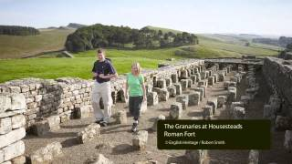 housesteads roman fort the gr andest station rushworth alan