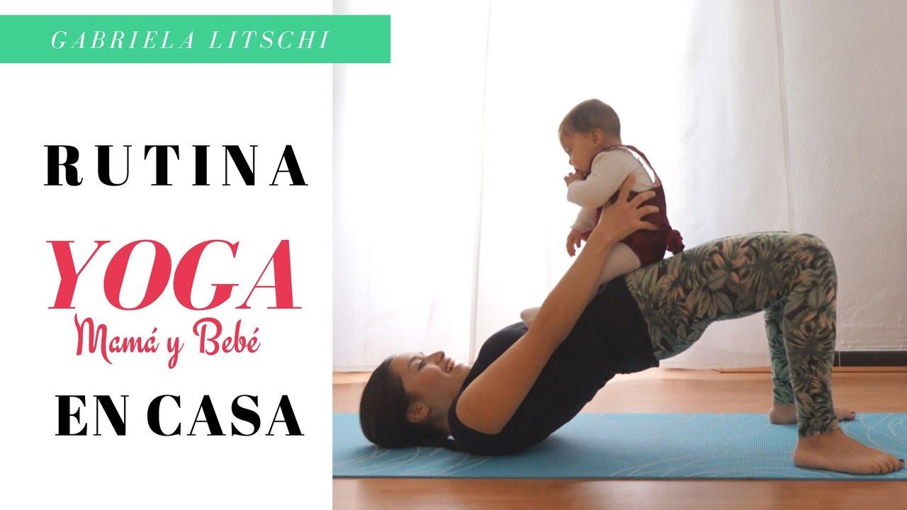 Ejercicios de yoga en casa para hacer con tu beb yoga postparto youtube - Ejercicios yoga en casa ...