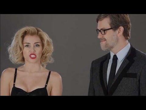 Miley Cyrus 50 Shades of Grey SNL Skit!