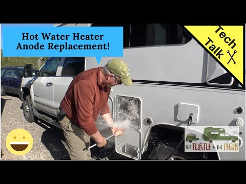 RV Hot Water Heater Anode Replacement