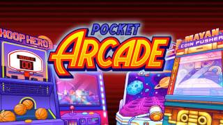 Pocket Arcade - Basketball, Coin Dozer, Claw Machine and more!