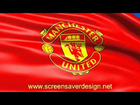 Fc manchester united flag screensaver youtube fc manchester united flag screensaver voltagebd Image collections