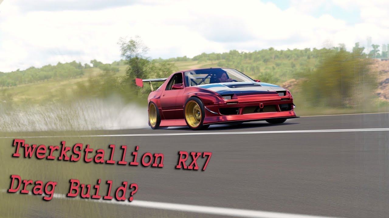 twerk stallion rx7 drag car youtube