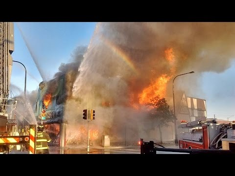 MABAS 24 Harvey,Illinois Fire Department 3-11 Box Alarm Fully Involved Commercial Building