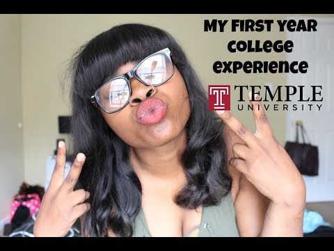 My first year college experience | Temple University