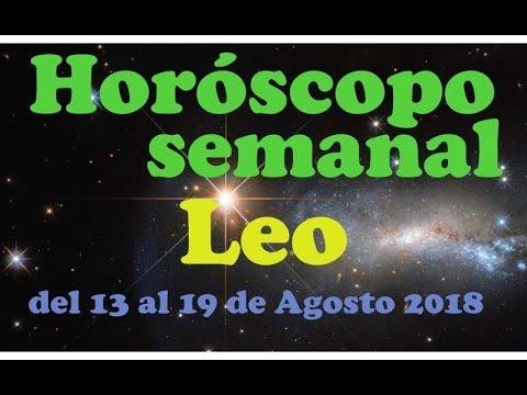 Horóscopo LEO - 14 de AGOSTO de 2018