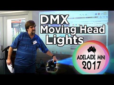 Adelaide Mini 2017 - DMX Moving Head Lights
