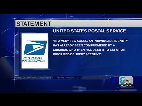 Thieves Use USPS