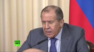 Пресс конференция глав МИД России и Белоруссии