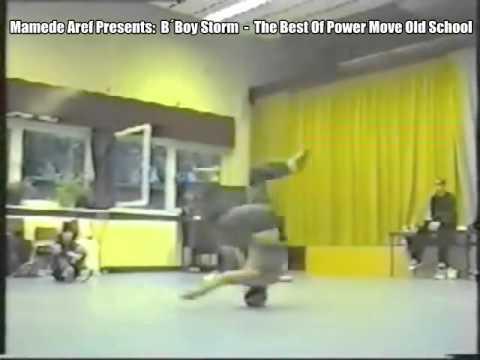 bboy STORM - POWER MOVE OLD SCHOOL