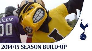 Spurs TV meets the Big Ten Mascots - Air Ball Skills
