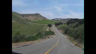 Driving California Santa Maria Valley
