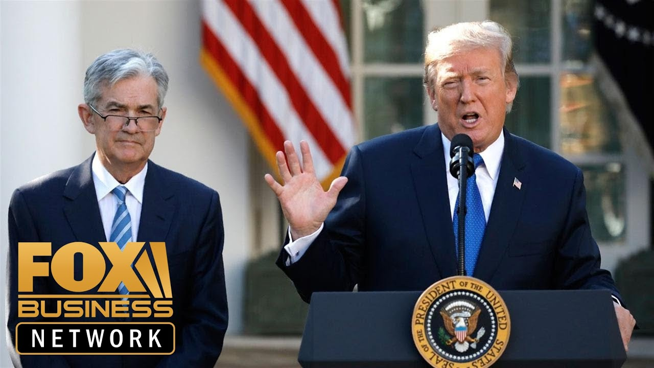 FOX Business  Trump is trying to intimidate Fed's Powell: Economist