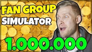 PROVIDE $1 million for FANS! -Danish Roblox: Fan Group Simulator