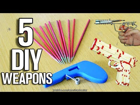 5 Homemade Weapons - DIY Weapons