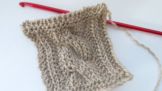 In this tutorial I show you how to crochet Tunisian Cables using the Tunisian Knit and Purl Stitch! I hope you enjoy and find it useful. Buy Tunisian hooks at: ...