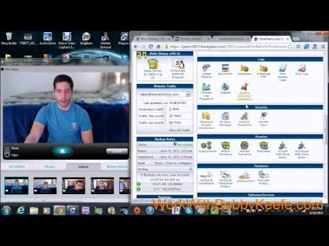 How to host your GoDaddy.COM domain on Hostgator