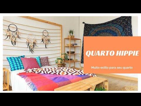 Como decorar quarto Hippie cheio de estilo