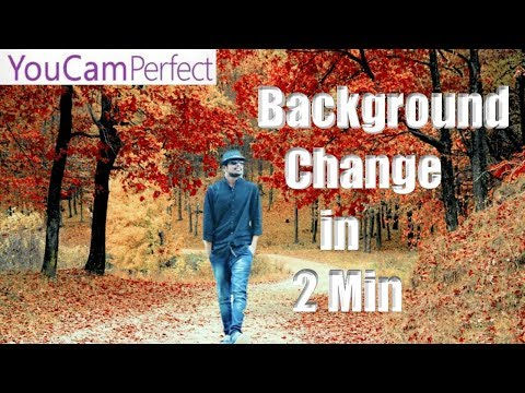 How To Change Background For images in Youcam Perfect || #43 viral video ||tech masti