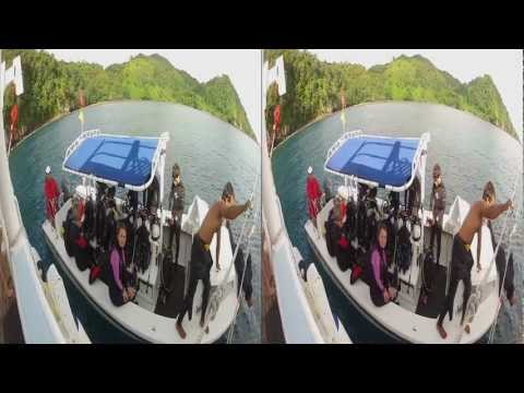 3D Diving at Cocos Island - Part II
