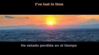 Peace Treaty ft. Anabel Englund - In Time (Singularity Rmx) Lyrics on screen - Subtitulos en español