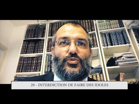 613 - 29eme MITSVA DE LA TORAH - Interdiction de faire des idoles