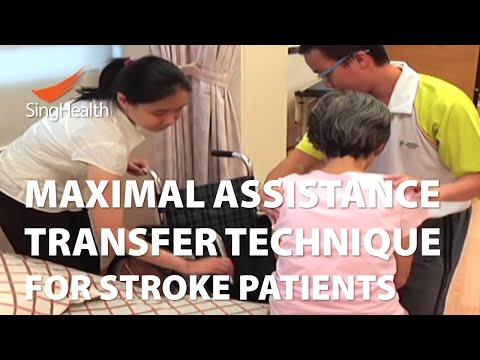 Transfer Techniques For Patients With Stroke (Part 1: Maximal Assistance Transfer)