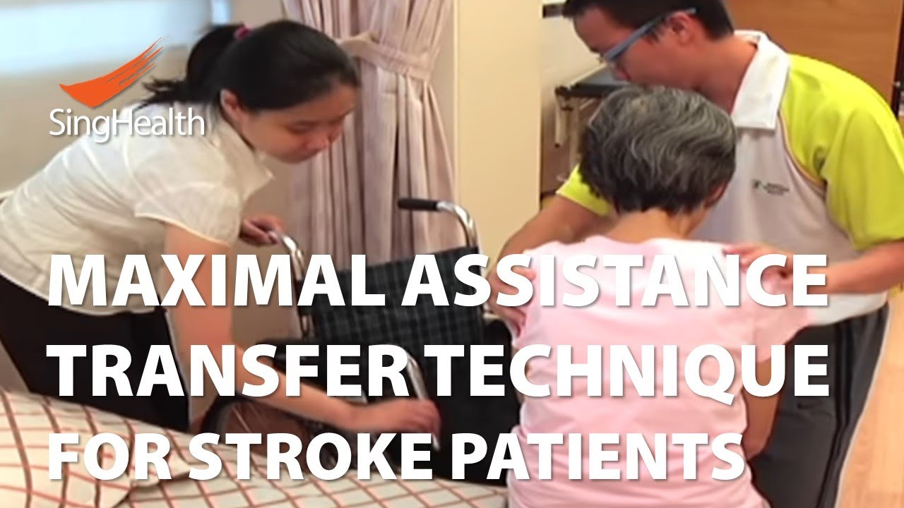 Transfer Techniques For Patients With Stroke Part 1